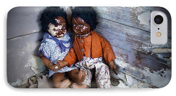 Forgotten Dolls Study IIi IPhone Case by Norma Warden