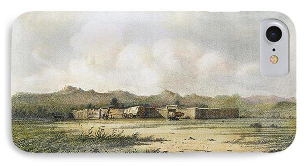 Fort Bridger, Wyoming, 1852 IPhone Case by Granger