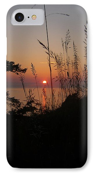IPhone Case featuring the photograph Fort Ebey Sunset by Cheryl Perin