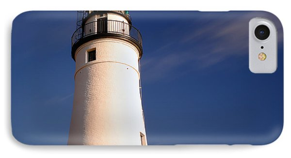 IPhone Case featuring the photograph Fort Gratiot Lighthouse by Gordon Dean II
