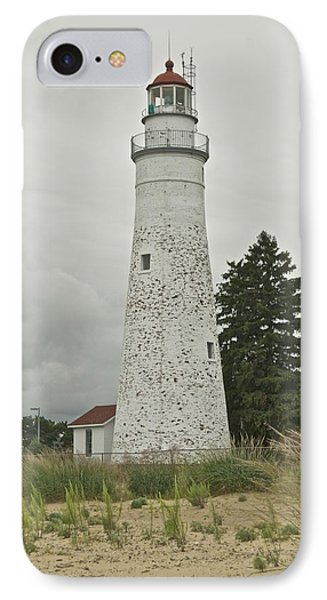 Fort Gratiot Lighthouse Phone Case by Michael Peychich