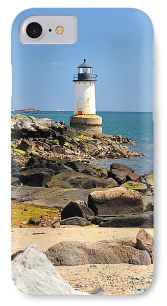 Fort Pickering Lighthouse Phone Case by Catherine Reusch Daley