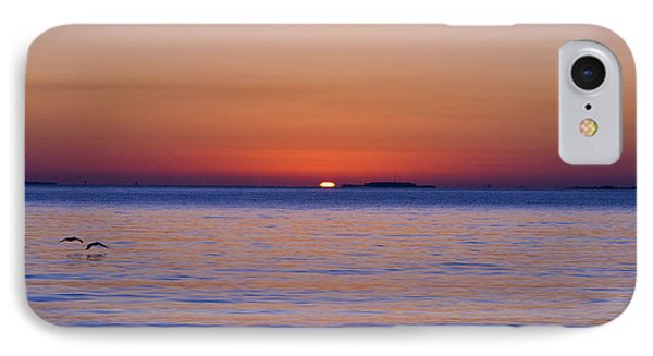 Fort Sumter Sunrise Phone Case by Al Powell Photography USA