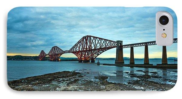 Forth Rail Bridge Phone Case by Svetlana Sewell