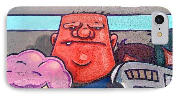 Found Graffiti 29 La Fang Phone Case by Jera Sky