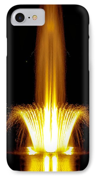 Fountain Flames Phone Case by DigiArt Diaries by Vicky B Fuller