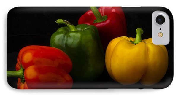 Four Peppers Phone Case by Frederic A Reinecke