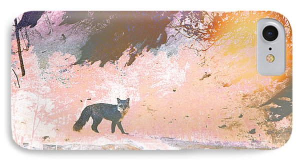 IPhone Case featuring the photograph Fox In The Forest 2 by Lenore Senior and Tammy Sutherland