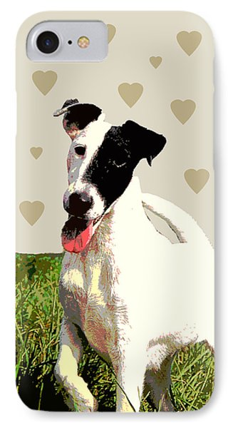 Fox Terrier Smooth Phone Case by One Rude Dawg Orcutt
