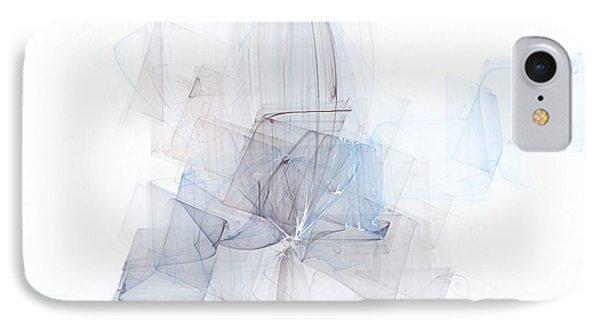 Fragile Blue Essence IPhone Case