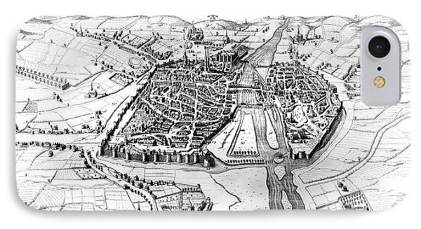France: Walled City, 1688 Phone Case by Granger