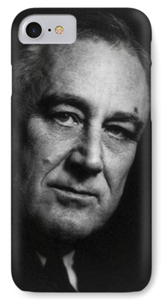 Franklin Delano Roosevelt  - President Of The United States Of America Phone Case by International  Images