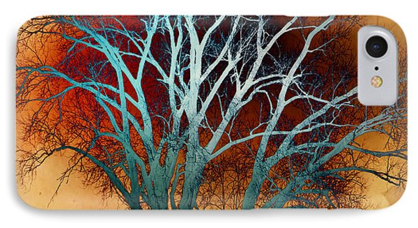 Freaky Tree 1 Phone Case by Marty Koch