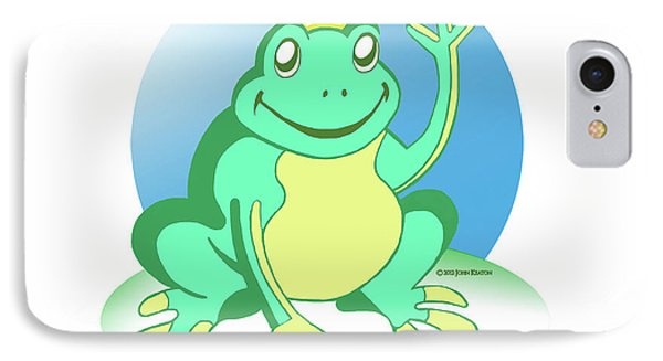 Fred The Frog Phone Case by John Keaton