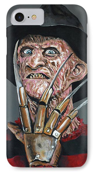 Freddy Kruger Phone Case by Tom Carlton