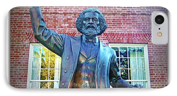 Frederick Douglass Phone Case by Brian Wallace