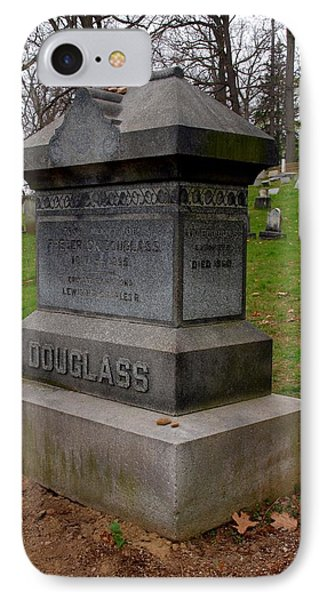 Frederick Douglass Grave Two Phone Case by Joshua House