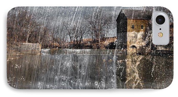 IPhone Case featuring the photograph Fredonia Mill by Brian Duram