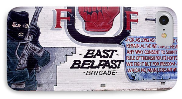 Freedom Corner Mural Belfast Phone Case by Thomas R Fletcher