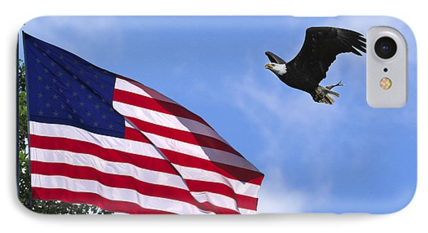 IPhone Case featuring the photograph Freedom Feeds The Family by Randall Branham