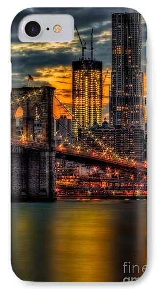 Freedom Rising IPhone Case by Susan Candelario
