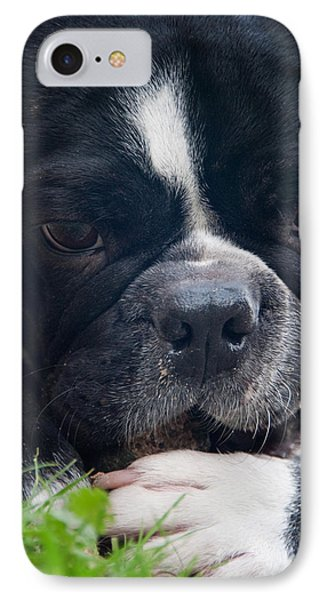 French Bulldog IPhone Case by Stelios Kleanthous