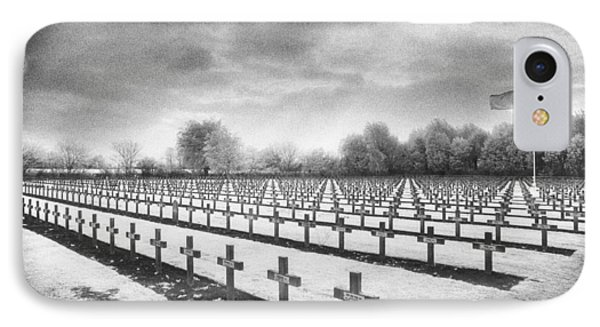 French Cemetery IPhone Case by Simon Marsden