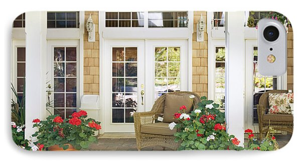 French Doors And Patio Phone Case by Andersen Ross