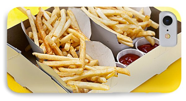 French Fries In Box Phone Case by Elena Elisseeva