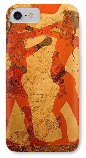 Fresco Of Boxing Children IPhone Case