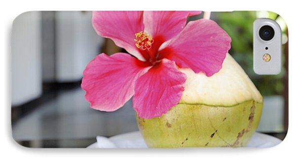 Fresh Coconut Milk Cocktail Phone Case by Kantilal Patel