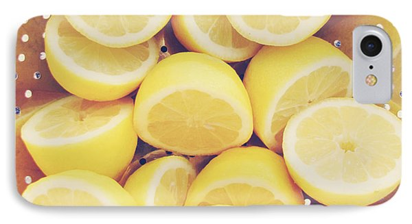 Fresh Lemons IPhone Case by Amy Tyler