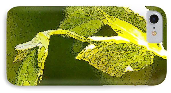Fresh Peas Phone Case by Artist and Photographer Laura Wrede