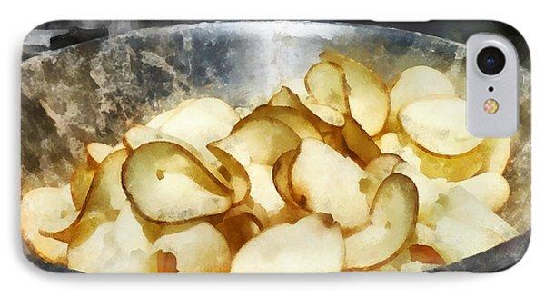 Fresh Potato Chips Phone Case by Susan Savad