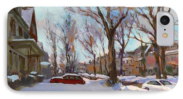 Fresh Snow Phone Case by Ylli Haruni