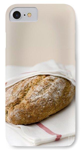 Freshly Baked Whole Grain Bread Phone Case by Shahar Tamir