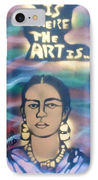 Frida Kahlo Phone Case by Tony B Conscious