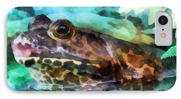 Frog Ready To Be Kissed Phone Case by Susan Savad