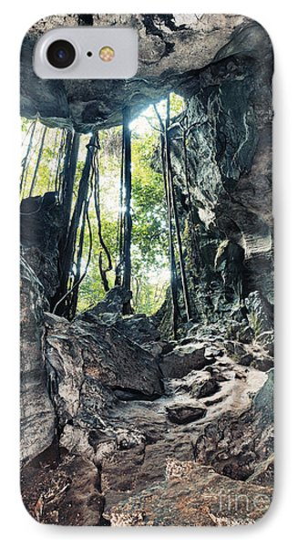 From The Cave Phone Case by MotHaiBaPhoto Prints