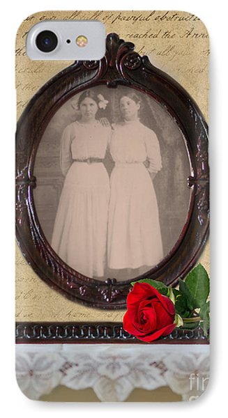 From The Past Phone Case by Betty LaRue