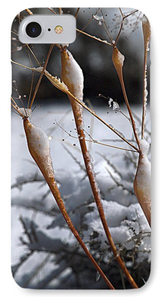 Frosted Trumpets Phone Case by Joe Schofield