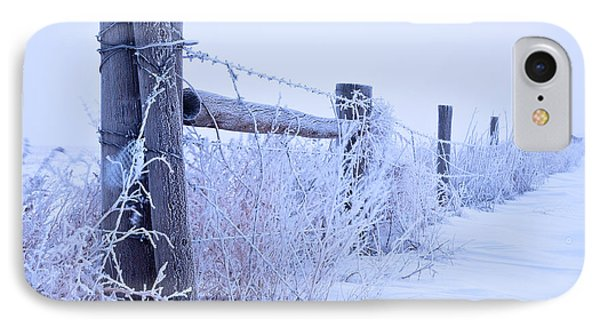 Frosty Morning IPhone Case by Monte Stevens