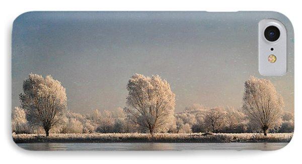 Frozen Lake Phone Case by Lyn Randle