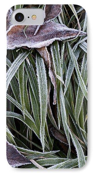 IPhone Case featuring the photograph Frozen by Raffaella Lunelli