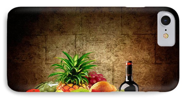 Fruit And Wine IPhone Case
