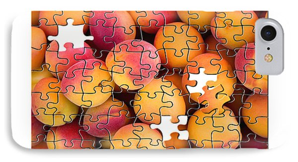 Fruit Jigsaw1 IPhone Case by Jane Rix