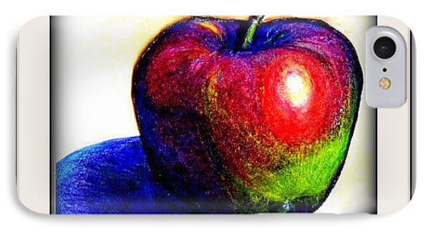 IPhone Case featuring the drawing Fruit Permis  by Danielle  Parent