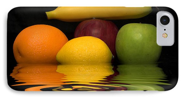 IPhone Case featuring the photograph Fruity Reflections by Cindy Haggerty