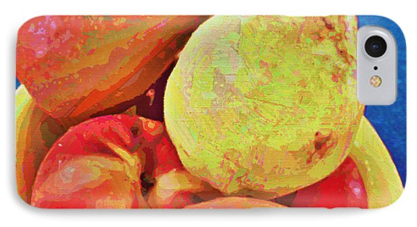 IPhone Case featuring the digital art Frutbol by Ginny Schmidt