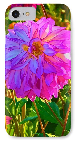 Fuchsia Delight IPhone Case by Ken Stanback